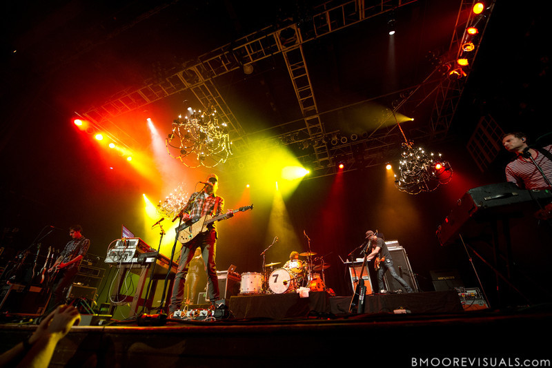 of David Crowder Band performs on November 11, 2011 at House of Blues in Orlando, Florida