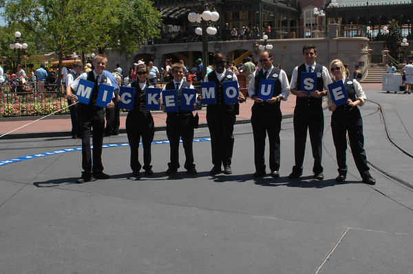 CHS Band at Disney