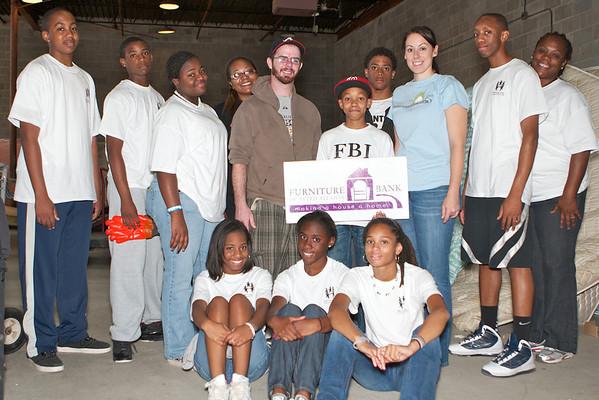 9-24-11 Furniture Bank of Metro Atlanta (KIPP Metro Atlanta Volunteers)