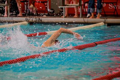 Swimming vs UNCW