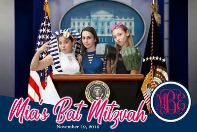 Mia's Bat Mitzvah
