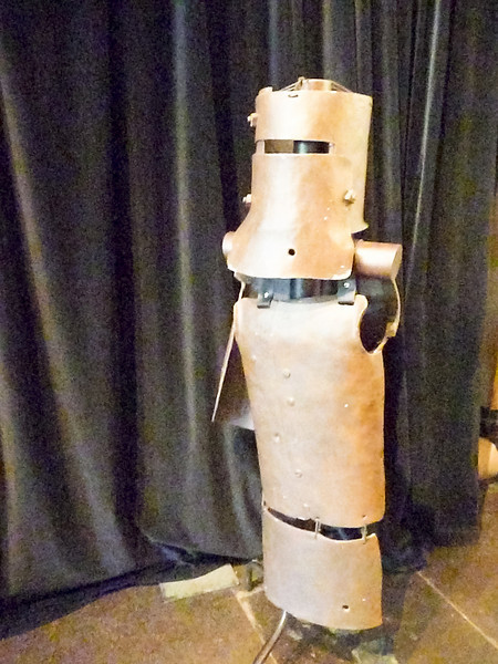 Melbourne - Old Melbourne Gaol - Ned Kelly replica armor