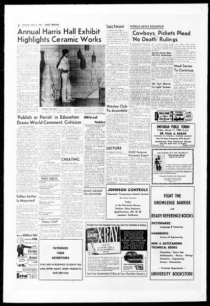 Daily Trojan, Vol. 51, No. 81, March 09, 1960