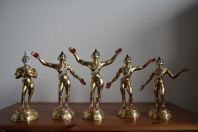PT painted Deities