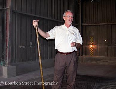Four Roses Distillery with Master Distiller Jim Rutledge (April 2006)