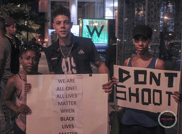 Atlanta Protest - July 8th 2016 #BlackLivesMatterAtl