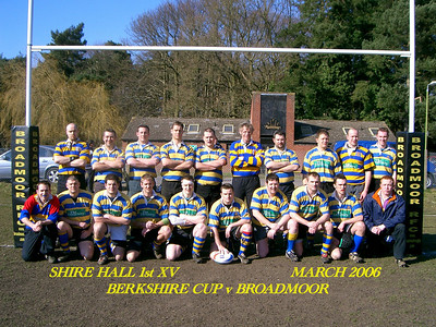 Broadmoor Cup March 2006