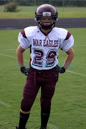 FOOTBALL - 2012 (10u) Chestatee War Eagles