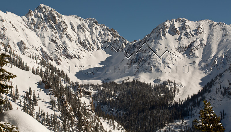 Grand Traverse Peak in the Gore Range, CO