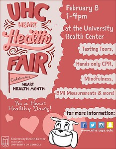 Heart Health Fair, 2/8/17
