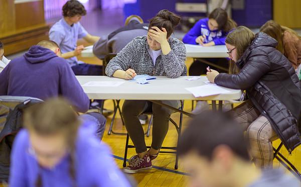 2020 - 45th Annual Mathematics Contest