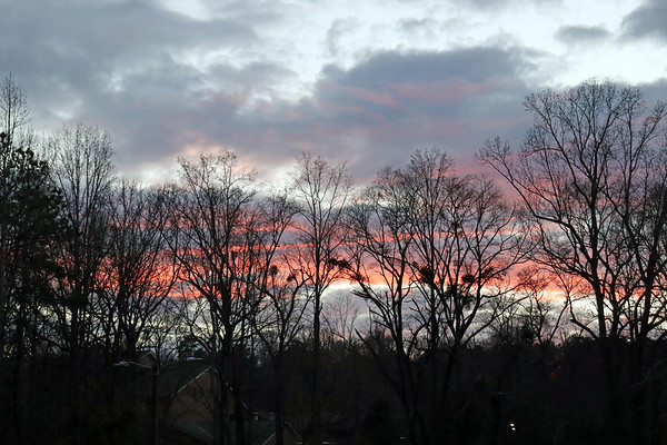January 22:  I have a thing for clouds and colors .  .  .
