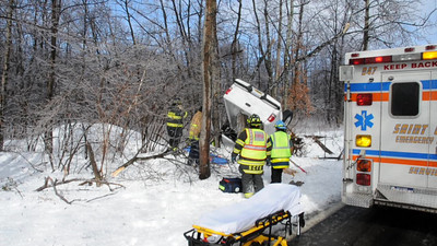 BLYTHE TOWNSHIP VEHICLE ACCIDENT w EXTENDED ENTRAPMENT 3-7-2011 PICTURES AND VIDEOS BY COALREGIONFIRE