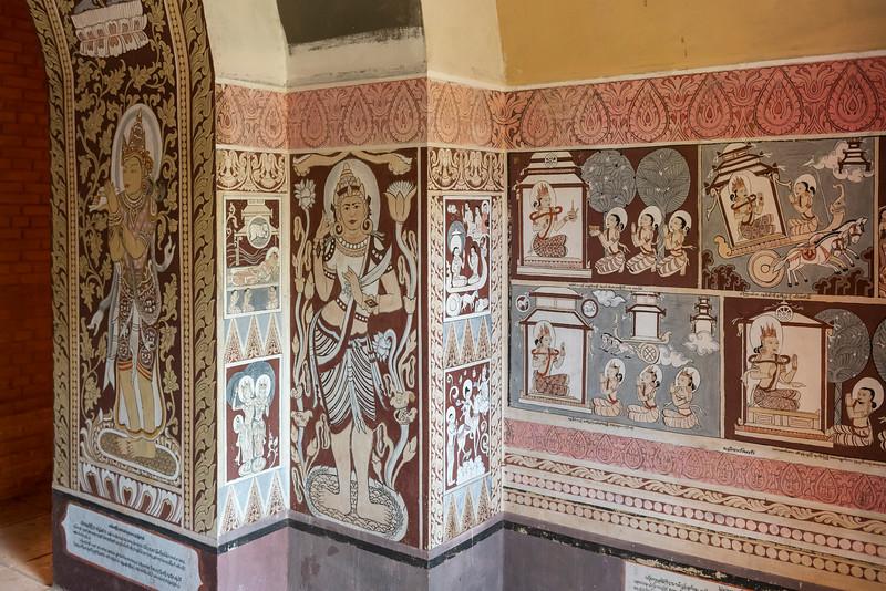 Mural paintings, Bagan