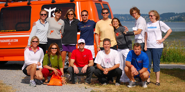 Team Tracy: Ragnar Relay '08
