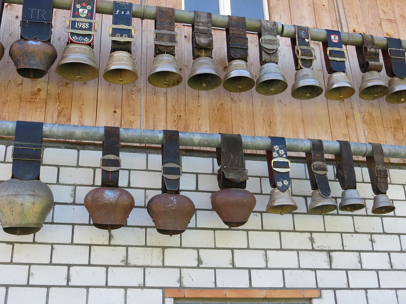 COW BELLS IN GIMMELWALD