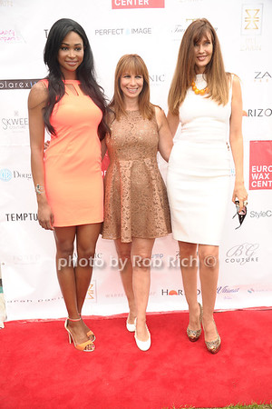 Miss USsA 2012 Nana Meriwither, Jill Zarin, and Carol Alt