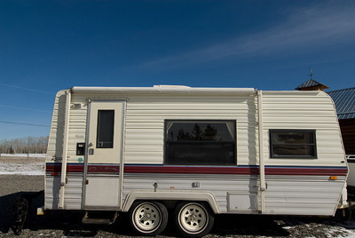 travel trailer (SOLD)