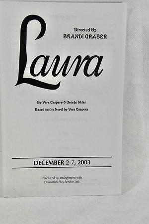 12-2-2003 Laura @ Joplin Little Theatre