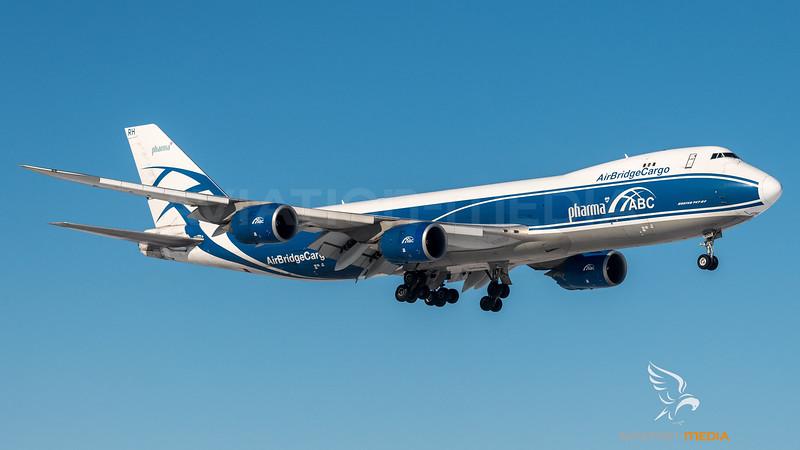 AirBridge Cargo / Boeing B 747-8HV(F) / VQ-BRH