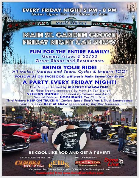Garden Grove Main Street Car Show