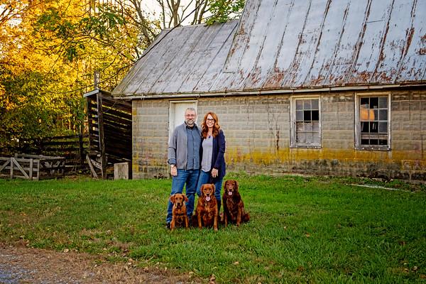 Jenny & Lance & pups 2020