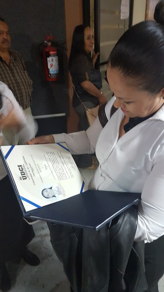 Norma Huerta Titulo Ceremony October 2016