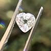 1.06ct Antique Heart Diamond GIA H SI1 9