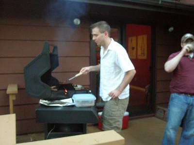 2008 08 Mesa and Jason BBQ