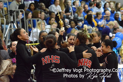 1-17-2015 Northwood HS Varsity Poms at Damascus HS Invitational, MCPS Championship, Photos by Jeffrey Vogt Photography with Kyle Hall