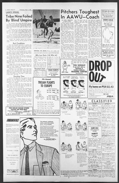 Daily Trojan, Vol. 58, No. 116, May 03, 1967