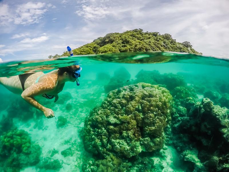 Philippines Snorkeling - GoPro Dome Port