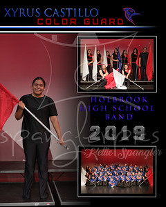 2019 HHS Band & Drum Line