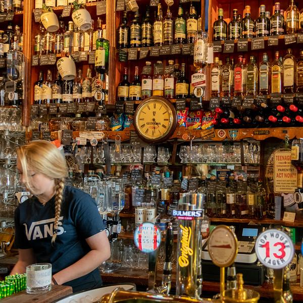 Interiors of bar, Dingle, County Kerry, Republic of Ireland