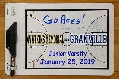 2020 Watkins Memorial at Granville - Junior Varsity (01-25-20)