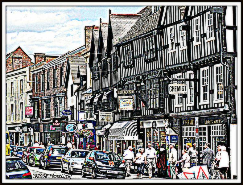 When Worlds Collide, Stratford-on-Avon  ©2008 FlorieGray   Best viewed Large