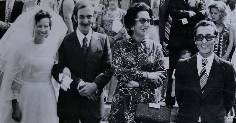 1974- Casamento de Luís Duarte e Ceu