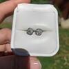 1.70ctw Old European Cut Diamond Clover Stud Earrings, GIA H-I SI 37