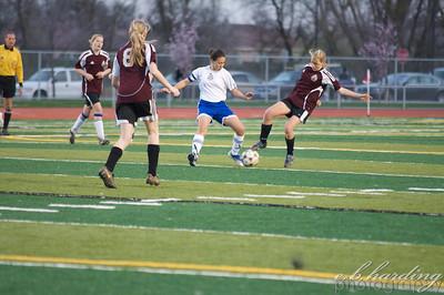 10-02-22 RCHS Varsity Girls Soccer vs Bear River