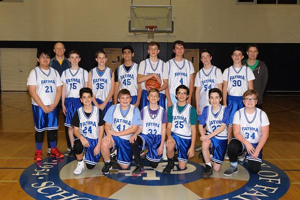 2016-17 8th Boys hoops
