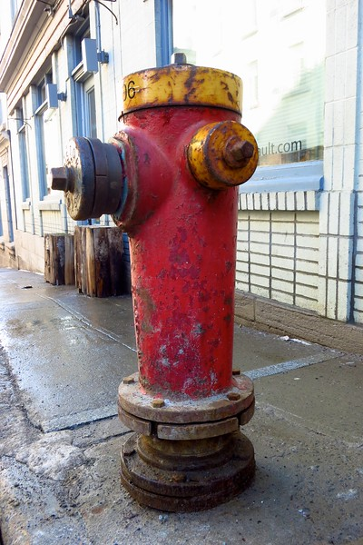 Rusty Fire Hydrant; Quebec City
