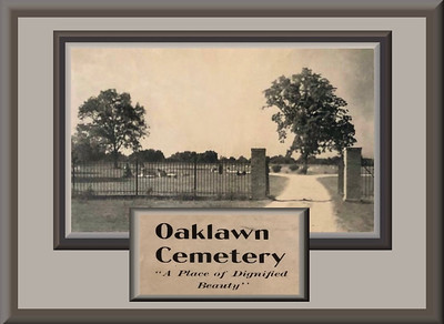 Restoring Historic Oaklawn Cemetery