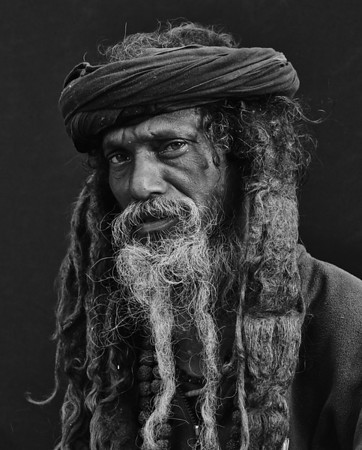 The Sadhus (Black & White)