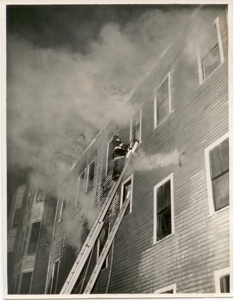 2 Alarm fire at 848 River street, Haverhill, Ma March 29,1941 at 1:31 am