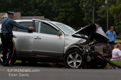 06-01-2012, MVC, Pittsgrove Twp. Salem County, Buck Rd. and Lawrence Corner Rd.