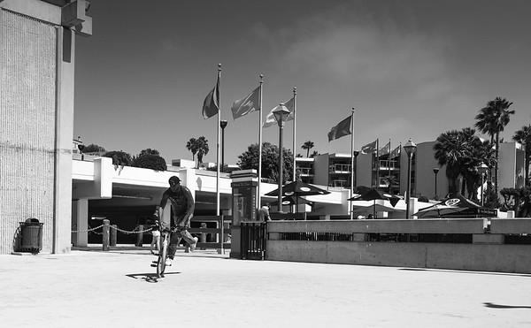 Bike Tricks Redondo Pier