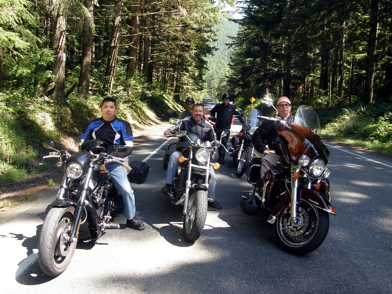Hood Canal Motorcycle Ride
