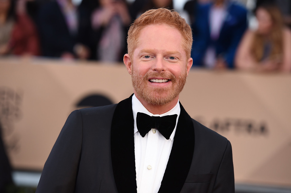 . Jesse Tyler Ferguson arrives at the 22nd annual Screen Actors Guild Awards at the Shrine Auditorium & Expo Hall on Saturday, Jan. 30, 2016, in Los Angeles. (Photo by Jordan Strauss/Invision/AP)