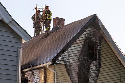 Munson St. Fire (New Haven, CT) 7/29/18