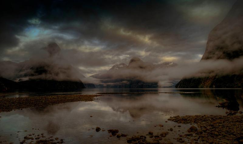 Milford Sound basin.